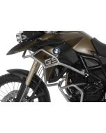 Stainless steel crash bar extension for BMW F700GS, F800GS 2013 onwards