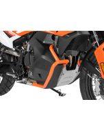 Tank crash bar stainless steel, orange for KTM 890 Adventure/ 890 Adventure R/ 790 Adventure/ 790 Adventure R
