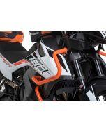 Stainless steel fairing crash bar, orange for KTM 890 Adventure/ 890 Adventure R/ 790 Adventure/790 Adventure R