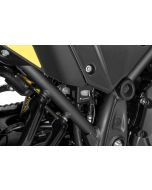 Rear brake fluid reservoir guard black for Yamaha Tenere 700