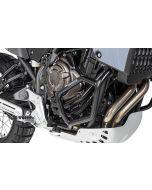 Engine crash bar stainless steel black for Yamaha Tenere 700