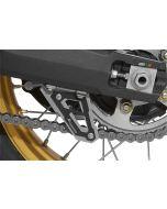 Chain guard fin, black, for Honda CRF 1000L Africa Twin/ CRF1000L Adventure Sports