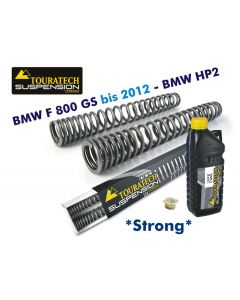 Progressive replaceable fork springs, BMW F800GS *with large tank* / BMW HP2