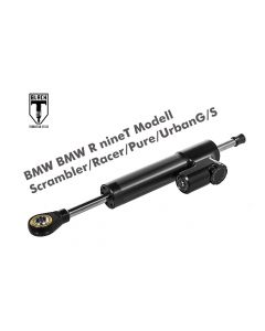Black-T Steering Damper CSC for BMW RnineT Modell Scrambler/Racer/Pure/UrbanG/S from 2016 incl. installation kit