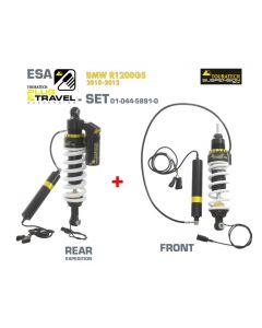 Touratech Suspension Plug & Travel ESA Expedition SET for BMW R1200GS Model 2010-2012