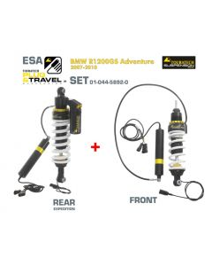Touratech Suspension Plug & Travel ESA Expedition SET for BMW R1200GS Adventure Model 2007-2010