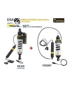 Touratech Suspension Plug & Travel ESA Expedition SET for BMW R1200GS Adventure Model 2010-2013