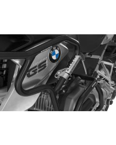 Motorway pegs for 25 mm diameter tubes, p.ex. for BMW R1200GS from 2013, Triumph Tiger Explorer, KTM LC8