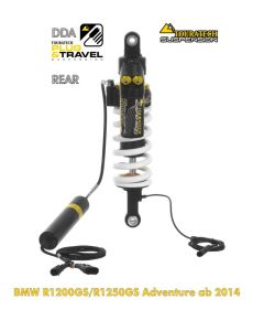 "Touratech Suspension ""rear"" shock absorber for BMW R1200GS Adventure (LC) / R1250GS Adventure DDA/Plug & Travel from 2014"
