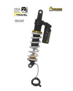 """Touratech Suspension """"front"""" shock absorber DDA / Plug & Travel for BMW R1200GS/R1250GS from 2017"""