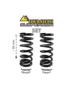 "Replacement springs Height lowering kit -20mm, for BMW R1200GS(LC) 2013-2016 ""Original shocks with BMW Dynamic ESA"""