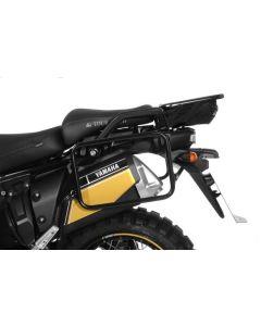 Stainless steel pannier rack black, for Yamaha XT1200Z / ZE Super Tenere