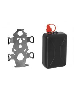 ZEGA Pro/ZEGA Mundo accessory holder set, canister holder incl. oil canister Touratech 2 litres
