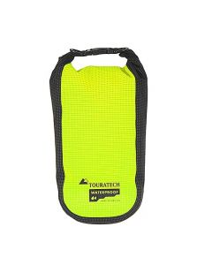 Additional bag High Visibility, size L, 3,5 litres, yellow/black, by Touratech Waterproof