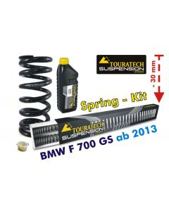 Height lowering kit -30mm for BMW F700GS from 2013 *replacement springs*