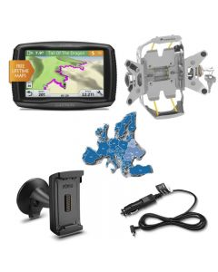 Garmin zumo 595 LM EU Bike & Car Set, silver