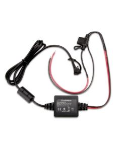 "Power cable for Garmin zumo 340/ 345/ 350/ 390/ 395/ 396, motorcycle, ""with open cable-ends"""
