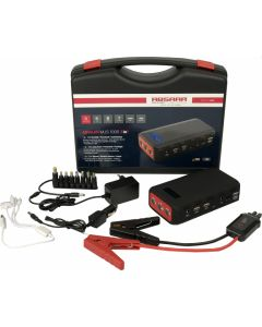 Powerbank and jump start for motorbikes, Absaar 18.000mAh