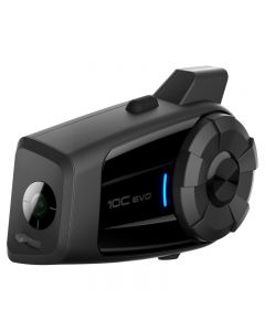 Headset with integrated Actioncam Sena 10C EVO