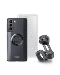 Mobile phone holder set for Samsung S21, SP Connect Moto Bundle