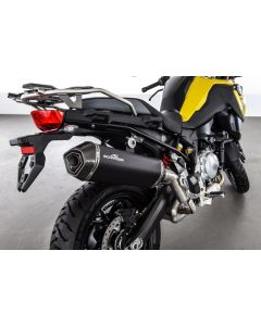 Silencer AC-Schnitzer Stealth, black, slip-on for BMW F850GS/ F750GS