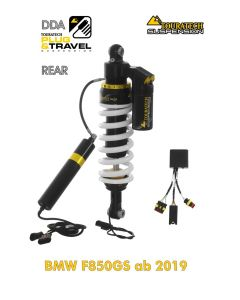 "Touratech Suspension ""rear"" shock absorber for BMW F850GS from 2018 DDA / Plug & Travel"
