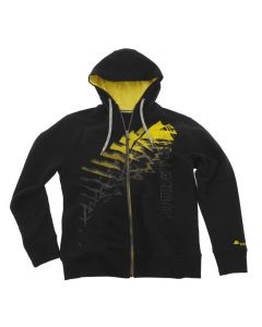 "Sweat jacket ""Triangle"" men, black, size M"
