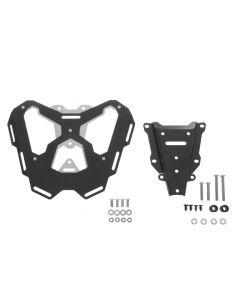 """Aluminium/stainless steel luggage rack """"black"""" for KTM 1050 Adventure/ 1090 Adventure/ 1290 Super Adventure/ 1190 Adventure(R)"""