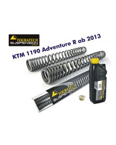 Progressive fork springs for KTM 1190 Adventure R from 2013 (with ABS without EDS)