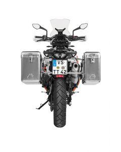 ZEGA Mundo aluminium pannier system for KTM 890 Adventure / 890 Adventure R / 790 Adventure / 790 Adventure R