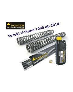 Progressive fork springs for Suzuki V-Strom 1000 from  2014