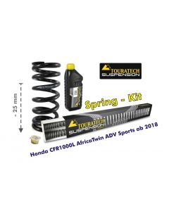 Height lowering kit, 25mm, for Honda CRF1000L Africa Twin Adventure Sports from 2018 replacement springs