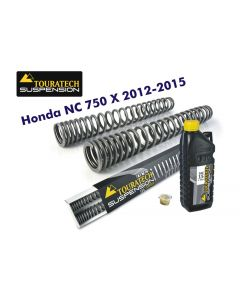 Progressive fork springs for Honda NC750X 2012-2015