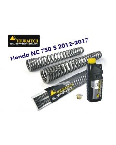 Progressive fork springs for Honda NC750S 2012-2017