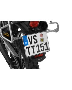 Number plate splash guard for Triumph Tiger 800/ 800XC/ 800XCx (-2017)