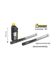 Height lowering kit, 30mm, for Triumph Tiger 800 2011-2014 *replacement springs and reversing lever*