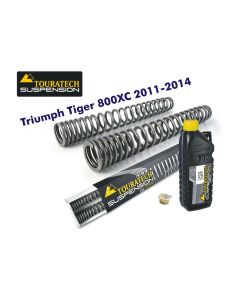 Progressive fork springs for Triumph Tiger 800XC 2011-2014