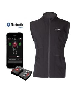 Heated vest 'Heat Vest 1.0' with lithium battery and Bluetooth control unit