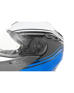 Conversion kit for Touratech Aventuro Traveller visor, transparent incl. screws