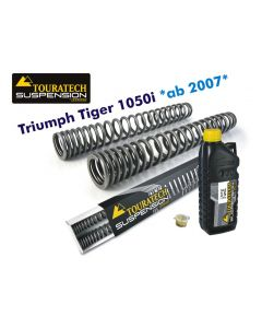 Progressive fork springs for Triumph Tiger 1050i *from 2007*