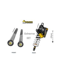 Touratech Suspension WTE Lowering SET -35mm Type Extreme for Yamaha 700 Tenere from 2019