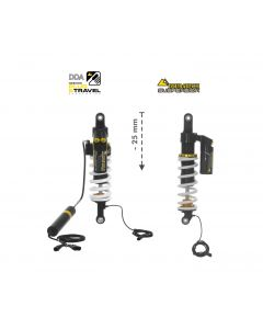 Touratech Suspension-SET Plug & Travel -25 mm lowering for BMW R1200GS Adventure  2014 - 2016
